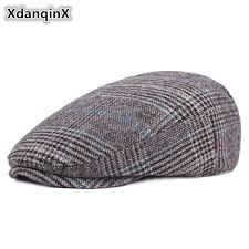 <b>XdanqinX</b> Winter <b>Hat</b> Men's Casual Fashion Cotton Berets Outdoor ...