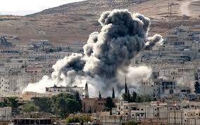 Risultati immagini per Bombardamenti ISIS