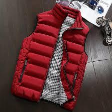 2019 <b>Down Cotton Vest Man</b> Autumn Winter Men'S Sleeveless ...