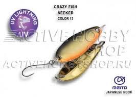 <b>Crazy Fish SEEKER</b> 2.5гр/#13 купить на activehobbyshop.ru