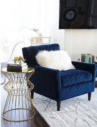 living room furniture blue decor