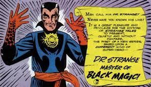 Resultado de imagen de doctor strange comics ditko