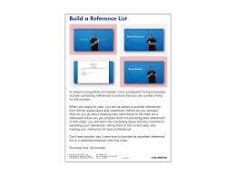 job success build your reference list dvd first version asl job success build your reference list dvd first version