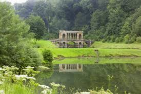 Small Picture A long view of the Palladian Bridge at Prior Park Bath UK a