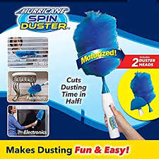 Hurricane Spin Duster/Adjustable Electric Feather ... - Amazon.com