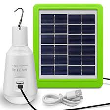 Solar Lights <b>Outdoor</b>, <b>Rechargeable</b> Solar Panel Powered LED ...