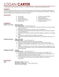 sales associate retail resume sample   singlepageresume comsales associate level resume sample perfect resume retail  s associate resume examples