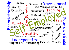 words essay on self employment