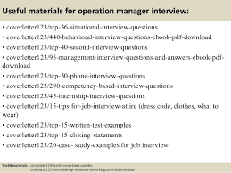 Top   operation manager cover letter samples My Document Blog
