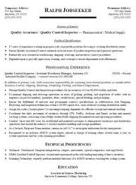 sample cv qa   example good resume templatesample cv qa