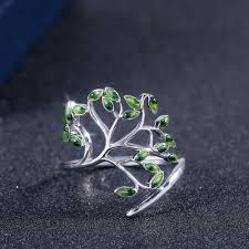 <b>HUITAN</b> New Come Branches Twig Design Party Women Rings ...