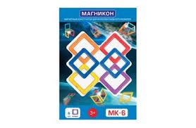 Магнитный <b>конструктор МАГНИКОН MK</b>-6 - купить