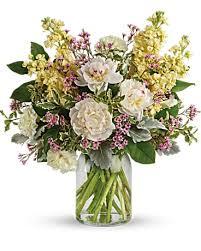 Serene Spring <b>Peony</b> Bouquet in Washington IA - <b>Wolf</b> Floral, Inc