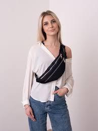 <b>Сумка поясная Hugo</b> черного цвета Женские сумки, Текстиль ...