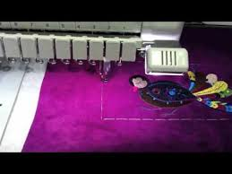 Baby <b>Lock</b> Enterprise: <b>Embroidered</b> Laptop Case - YouTube