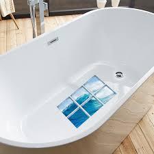 <b>3D Creative Bathroom</b> Renovation Waterproof Bathtub Stickers ...