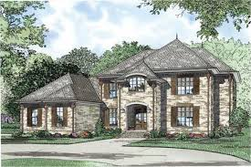 Luxury European House Plans   Home Design      middot  This is a colorful front elevation of these Luxury European House Plans