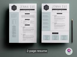 two page cv template resume templates on com