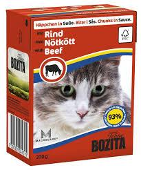 <b>Bozita</b> Cat Food <b>Chunks</b> in Sauce with Elk 370g x 16   Cat food, Cat ...