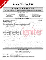 resume samples for experienced  s professionals resume samples    software sales resume sample
