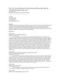 doc civil engineering resume sample com industrial engineering resume objective template