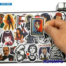 <b>25pcs Classic Movie</b> Posters Decal Stickers Pulp Fiction Godfather ...
