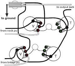mod garage decouple your les paul s volume controls  wiring diagram courtesy of singlecoil com