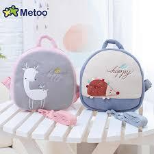 <b>Prevent Fall Cute Cartoon</b> Traction Bags Kids Doll Plush Backpack ...