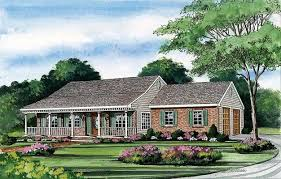Beautiful Home Plans With Porches   One Story House Plans With    Beautiful Home Plans With Porches   One Story House Plans With Porch