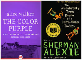 the color purple banned book eassume com banned books week 10 gorgeous covers from forbidden books