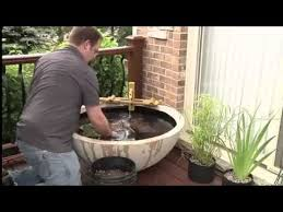 diy patio pond: how to build a patio pond indoors or outdoors or on your balcony