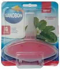Sano <b>подвеска для унитаза</b> Sanobon Rim Block strawberry ...