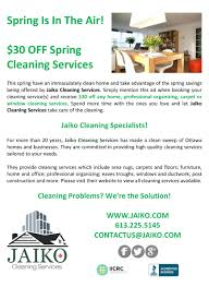30 off spring cleaning services jaiko cleaning services 30 off spring cleaning services