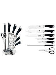 <b>Набор</b> ножей на подставке, 8 предметов <b>BERLINGERHAUS</b> ...