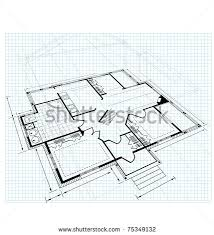House Plans Stock Photos  Royalty Free Images  amp  Vectors   ShutterstockImage drawing house plan small square on a white background