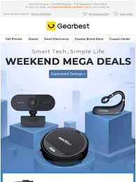 Gearbest New Latam: Discounts Go Into Overdrive | Up To 59% Off ...