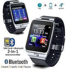 Indigi Universal iOS & Android SmartWatch & Phone ... - Amazon.com