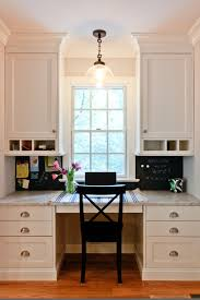 classic coastal colonial renovation the kitchen desk elegant home office photo in newark with a built built office desk ideas office