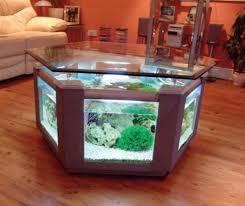 ideas aquarium table design shaped a hexagons fish tanks cheap home office desks acrylic tank glass office desk aquarium