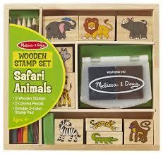 Купить <b>Набор</b> штампов <b>Melissa & Doug</b> Животные Африки (8786 ...