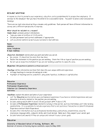 examples of a resume profile  seangarrette coexamples