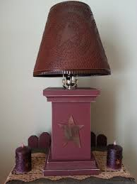saltbox houses beth country primitive home decor primitive lamp   primitive lamp
