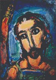 seeing through the darkness georges rouault s vision of christ head of christ passion 1937 oil on paper pasted on canvas 41 acircfrac12 x 29 acircfrac12 inches the cleveland museum of art gift of the hanna foundation