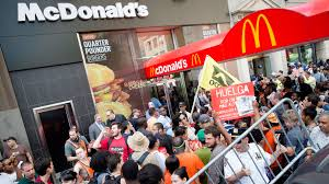 low wage employers have fought hard to keep their workers poor fast food workers expected to protest low wages nationwide
