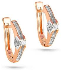 KABAROVSKY <b>Серьги с 36</b> бриллиантами из красного золота 2 ...