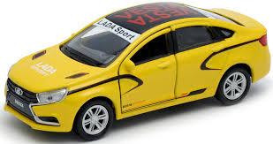 <b>Welly</b> Модель автомобиля LADA Vesta Sport — купить в интернет ...