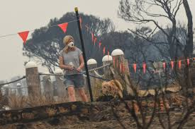 Victoria fires: The <b>ghost</b> road to Mallacoota