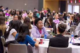 conference aims to attract more women to tech careers sjsu newsroom the full conference reconvened at lunch and in the early evening for inspirational keynote presentations