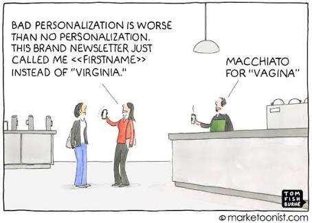 Personalisasi dalam pemasaran