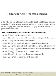 hiringlibrariansresume doc  sample resume sample library    top  cataloging librarian resume samples    librarian resume examples